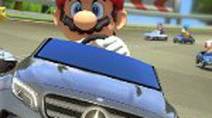 เบนซ์ ส่งรถยนต์ 3 คันหรู ให้ขับภายในเกมส์ Mario Kart 8