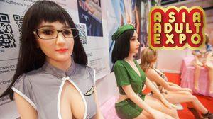 งาน Asia Adult Expo 2017 ที่รวบรวมนวัตกรรม ตุ๊กตายาง – เซ็กซ์ทอย ไว้มากที่สุดในโลก