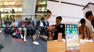 บรรยากาศการขาย iPhone 8 จากทั่วโลก เป็นไปอย่างเงียบเหงา