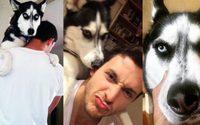 คู่ซี้หมอและหมา หมอหล่อกับฮัสกี้ หนุ่มรักสัตว์โดนใจสาว แชร์กันรัวๆ