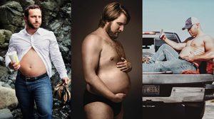 ฮากว่านี้ไม่มีแล้ว รูปถ่าย ฉลองการเป็นพ่อคน สไตล์ล้อเลียนสาว ๆ ถ่ายรูปตอนท้อง