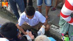 ชื่นชม! เด็ก ม.3 เมืองคอน ยอมไปโรงเรียนสาย เพราะช่วยคุณยายถูกรถชน