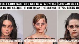 งานนี้สาวๆ ฮอลลีวู้ดยอมไม่สวย เพื่อแคมเปญรณรงค์การใช้ความรุนแรงต่อเพศหญิง
