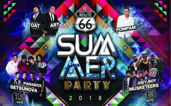 """SUMMER นี้อย่าพลาด สาดความมันส์กันให้สุดอีกครั้งใน """"Route66 Summer Party 2018"""""""