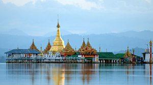 มิตจีนา เมืองริมแม่น้ำอิระวดี ประเทศพม่า