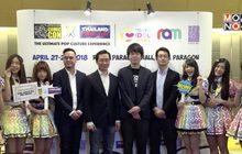 """แถลงจัด """"Bangkok Comic Con x Thailand Comic Con 2018""""27-29 เม.ย.นี้ ที่รอยัลพารากอนฮอลล์"""