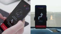 Huawei โชว์ล้ำใช้สมาร์ทโฟนฝังเทคโนโลยีเอไอควบคุมรถยนต์ไร้คนขับ ในโครงการ RoadReader