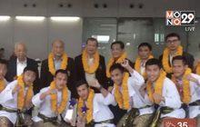 """""""ยอดวิชา"""" นำทัพมวยไทยฯถึงบ้านหลังกวาดทองที่เม็กซิโก"""