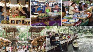 7 ตลาดย้อนยุค ของกินอร่อย มุมถ่ายรูปไทยๆ ก็เยอะ
