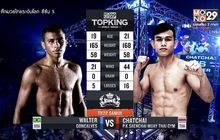 คู่ที่ 1 Superfight วอลเตอร์ กอนคัลเวส VS ชัชชัย พี.เค.แสนชัยมวยไทยยิม
