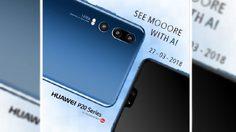 Huawei P20 หลุดภาพจริง โชว์กล้อง 3 ตัวพลัง AI และรอยแหว่งแบบ iPhone X