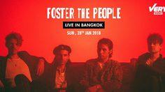 ครั้งแรกที่เมืองไทยของวงอินดี้ร็อค Foster The People 28 ม.ค. 2561 นี้