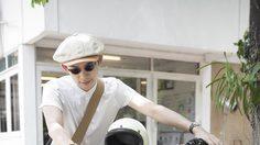 แฟชั่นวินเทจนักศึกษา สไตล์ไดร์ฟ นักร้องนำวง The Drivers