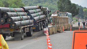 กรมทางหลวง แจ้งปิดถนนเพชรเกษม เพื่อซ่อมสะพานที่เสียหายจากน้ำท่วม