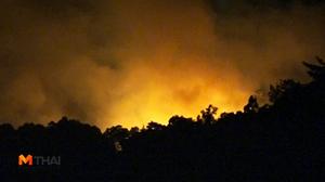 ไฟไหม้! ป่าบน 'เกาะสมุย' กินเนื้อที่กว่า 60 ไร่