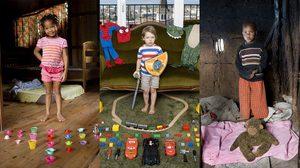 โปรเจกต์น่ารักๆ Toy Stories ช่างภาพอิตาลีบันทึกภาพ ของเล่น จากเด็กๆ ทั่วโลก