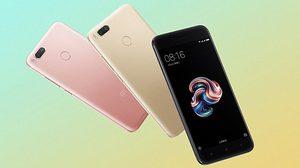 หลุด!! ภาพ Xiaomi Mi 5x มาพร้อมกันถึง 3 สี