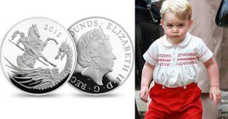 เหรียญนี้มีที่มา ! มาย้อนประวัติเหรียญที่ระลึกครบรอบ 2 ชันษาเจ้าชาย George's องค์น้อยกัน