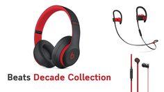 Apple ปล่อยหูฟังชุดใหม่ Beats Decade Collection สีแดงดำสุด Cool ในไทยแล้ว
