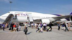 กสทช. ไฟเขียวให้การบินไทยถ่ายทอดสดบอลโลกบนเครื่องบินได้