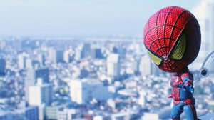 Nendoroid The Amazing Spider-Man ชุดหัวโตตัวเล็ก