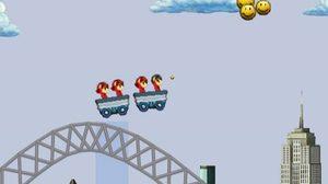 เกมส์รถไฟเหาะ มหาสนุก Sky Train