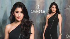 สวยเลอค่า!!! ปู ไปรยา ดาราไทยคนแรก ที่ได้โกอินเตอร์ ไปร่วมงาน OMEGA ณ กรุงลอนดอน