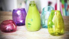 DIY ถ้วยแก้วเสียบ แปรงแต่งหน้า จากของใช้ในบ้าน มันเก๋กู๊ดมากนะ ลองดู