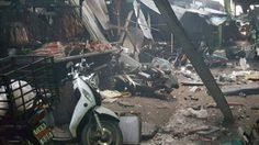 ด่วน! คนร้ายลอบวางระเบิดกลางตลาดเมืองยะลา เสียชีวิต 3 ราย