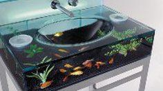Aquarium Sink อ่างล้างมือตู้ปลา ที่ทำให้คุณสัมผัสกับโลกใต้น้ำได้ง่ายขึ้น