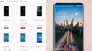 หลุด Huawei ทดสอบหน้าเว็บของ P11 และ P12 ผ่านหน้าเว็บ Huawei Official