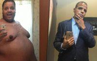ใจสู้! หนุ่มอ้วน ลดน้ำหนัก 317 กิโลกรัม จนเหลือ 120 ใน 2 ปี