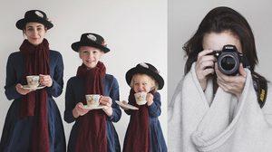 สุขคูณสาม บล็อกเกอร์สาว ชวนลูกแชะภาพสุดน่ารัก ใครเห็นเป็นต้องยิ้ม
