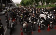 ส่งฟ้องผู้ขับขี่รถจักรยานยนต์ผิดกฎหมาย