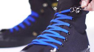 QuickShoeLace เชือกผูกรองเท้ามือเดียว เรื่องเชือกหลุดจะไม่เป็นปัญหาอีกต่อไป