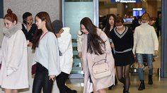 Oh My Girl เกิร์ลกรุ๊ป K-POP บินกลับประเทศ หลังถูกเข้าใจผิดว่า 'ค้าบริการ!'