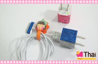 Easy DIY สายชาร์จโทรศัพท์ฟรุ้งฟริ้ง by Teen.mthai Ep2