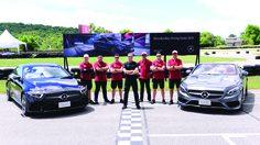 """เมอร์เซเดส-เบนซ์ จัดกิจกรรมฝึกอบรมเทคนิคการขับขี่ปลอดภัย """"Mercedes-Benz Driving Events 2018"""""""