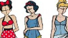 กุ๊กกิ๊กสุดๆ แฟชั่นชุดว่ายน้ำ ธีม เจ้าหญิง ดิสนีย์