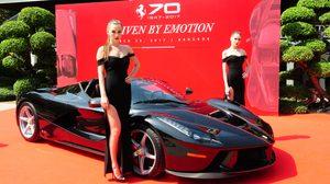 สุดยอดม้าลำพองตัวใหม่ LaFerrari Aperta ในงาน Ferrari 70th Anniversary Celebration in Thailand