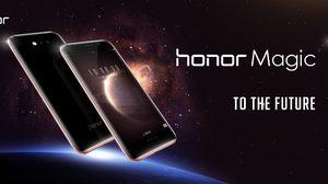 เปิดตัว Honor Magic สมาร์ทโฟนจอโค้งทุกด้านพร้อม AI อัจฉริยะ และเซ็นเซอร์ตรวจจับเจ้าของ