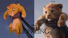 ฮาสิเพ่นยาาาา! เทียบช็อตต่อช็อต ภาพจาก The Lion King 1994 vs 2019