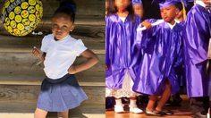 สาวน้อยวัย 5 ขวบโชว์ท่าเต้นฉลองสุดมั่น! ในพิธีสำเร็จการศึกษา
