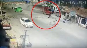 รถบรรทุกเบรกแตก พุ่งชนบ้านปชช. ก่อนทำคนดับ 5 ราย