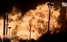 ไฟไหม้ขนาดใหญ่ในรัฐมิชิแกนของสหรัฐฯ
