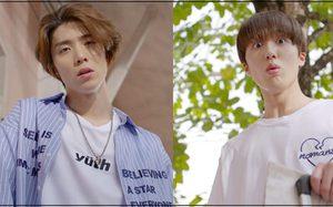"""สองหนุ่ม ชานิ - ฮวียอง SF9 ร่วมเชียร์บอลโลกกับชาวตลาด """"สภากาแฟ 4.0"""""""