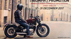 Triumph Motorcycles  ส่งโปรฯ สิ้นปี