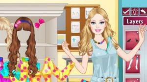 เกมส์แต่งตัวสาวน้อยไปโรงเรียน Barbie School Girl