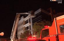 เพลิงไหม้อาคาร 5 ชั้นกลางเมืองขอนแก่น