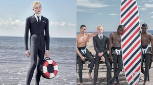 ชุดสูทว่ายน้ำ แฟชั่นใหม่เพิ่มความเท่ของผู้ชายแม้ตอนออกกำลังกาย